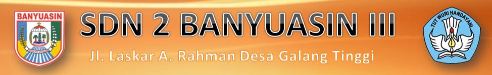SDN 2 BANYUASIN III